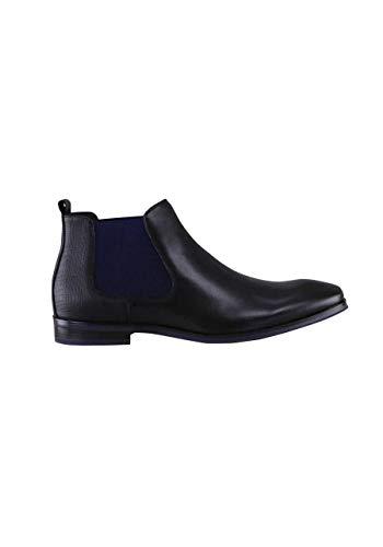 DIGEL Schuh Stetson Leder mit Absatz schwarz Größe 40