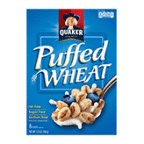 Quaker Cereal Puffed Wheat by Puffed Wheat