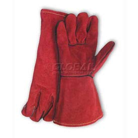 PIP Welder's Gloves, Red Viper, Select Shoulder Grade W/Cotton Lining, Russet, Right Hand Only (73-7015RHO)