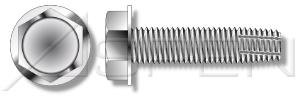 (3500 pcs) #10-32 X 5/8' Thread-Cutting Screws, Type 'F', Hex Indented Washer, No Slot, AISI 304 Stainless Steel (18-8), Ships FREE in USA by Aspen Fasteners