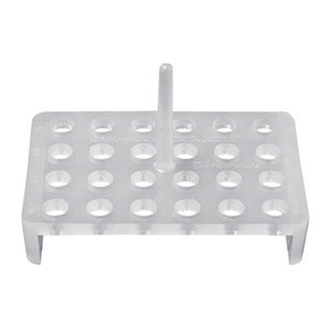 Bel-Art Products F18876-0000 Economy Floating Rack, Holds 24 Tubes (Pack of 4)