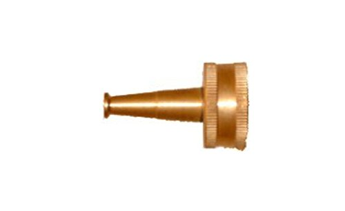 QVS 002010 Brass Sweeper Nozzle, 2-Inch , Gold