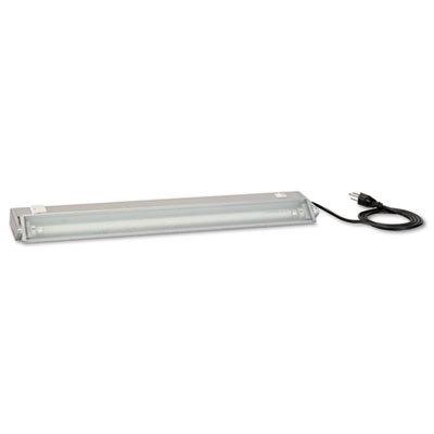 - Task Light Accessory, 23-3/8w X 3-1/2d X 1-3/4h, Pewter