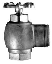 Sloan Valve H-730-A1-RB 1-Inch Wheel Handle Stop Adjustable, Rough Brass