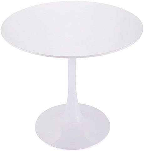 Tobbi 32 Inch Round Tulip Dining Table Coffee Table