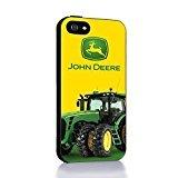 John Deere for Iphone 4s 5c Case (Case Cover For Ipod Touch 5 black) (John Deere Phone Cases 5c)