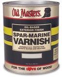 Old Masters 12226 92508 Spar-Marine Varnish, Semi-Gloss, 1 Pint