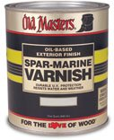 Old Masters 3693 92408 Spar-Marine Varnish, Gloss, 1 Pt