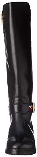 Nero Black Long 990 Boot Belt Alti Donna Corporate Hilfiger Stivali Tommy nBqzPxA8w8