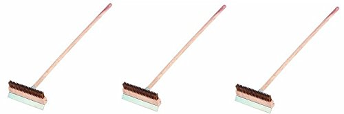 Crestware 40-Inch Pizza Oven Brush (3-Pack) by Crestware