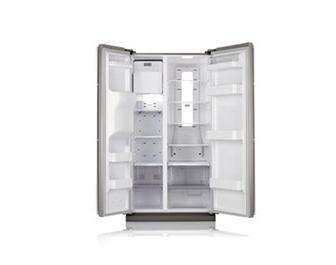 Samsung - Frigorifico Side By Side Samsung Rsh1Ubrs1, Inox (Medidas 912X1775X722 Fondo) Twin Cooling Con Dispensador Agua Y Hielo Para Vasos Altos.