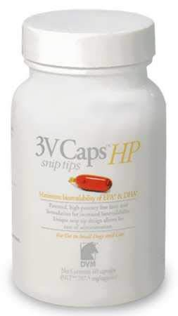 3V Caps HP SNIP TIPS for SMALLER DOGS CATS (60 Caps, 787.5 For Sale