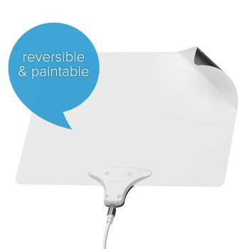 mohu paper thin leaf indoor hdtv antenna Mohu leaf ultimate hdtv antenna review enter mohu and its leaf indoor antenna a 15 db signal amplifier to go with its paper-thin wunderkind.