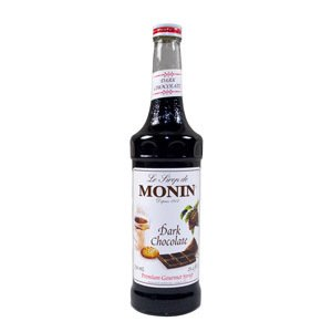 MONIN DARK CHOCOLATE, CS 12/750ML, 01-0130 MONIN INC MONIN SYRUPS