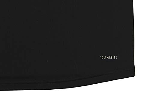 adidas NCAA Men/'s Nebraska Cornhuskers Team Logo 1//4 Zip Pullover White