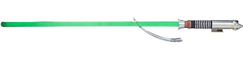Star Wars Luke Skywalker-FX Electronic Green Lightsaber - Glowing Colors- with Motion Sensor-48 Inches