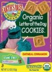 Organic Letter of the Day Cookies, Oatmeal Cinnamon, 5.3 oz (150 g)