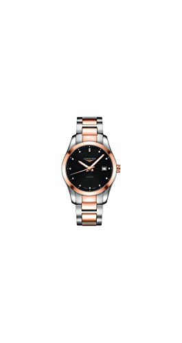 Longines-Conquest-Classic-L27855587-18K-Gold-and-Stainless-Steel-Automatic-Mens-Watch