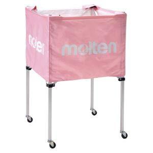 モルテン(Molten) 折りたたみ式ボールカゴ(中背高 屋内用) ピンク BK20HPK B07PD2DN89