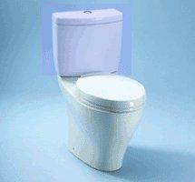 Toto Closeout CT414#01 Aquia Dual Flush Toilet Bowl in (Aquia Dual Flush Toilet)