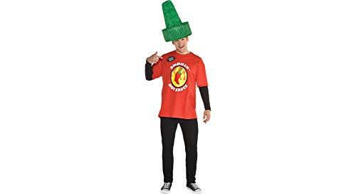 Hot Sauce Halloween Costume Accessory Kit for Adults,