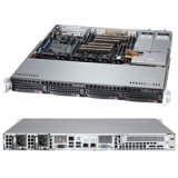 Supermicro SuperServer Dual LGA2011 400W 1U Rackmount Server Barebone System, Black SYS-6017R-M7RF