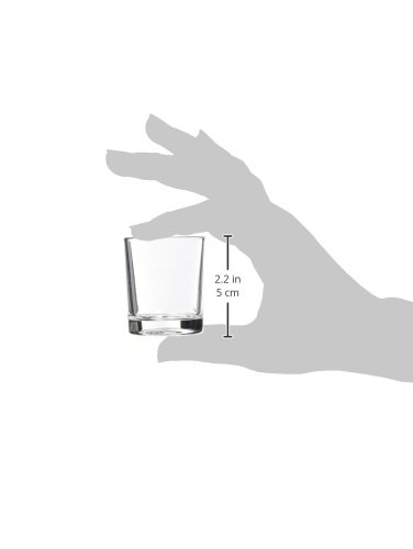 1.65 cm Unidades Luminarc Set 12 Vasos Forma Baja 5 Cl Licorcito
