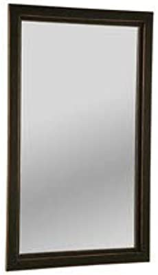 Clay Alder Home Hi-Line Black Finished Wall Mirror