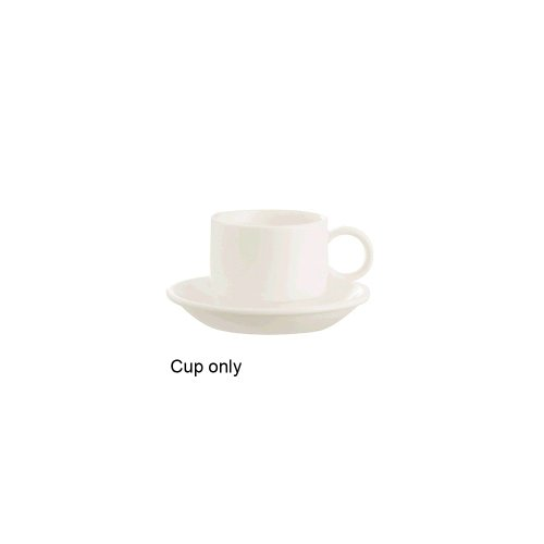 Arcoroc G3744 Daring White Stackable 3 Oz. A.D. Cup - 24 / CS