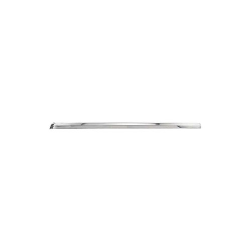 MACs Auto Parts 44-38540 Mustang Vertical Windshield Moulding - Bright Metal - Right - Coupe & Fastback