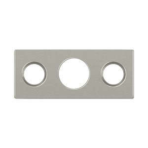 Del Sp7fbr15 Us15 Brass Strike Plate For 7 In Flushbolt ()