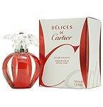 Touch Freesia Eau De Toilette (Delices De Cartier by Cartier Eau De Toilette Spray 1.6 oz)