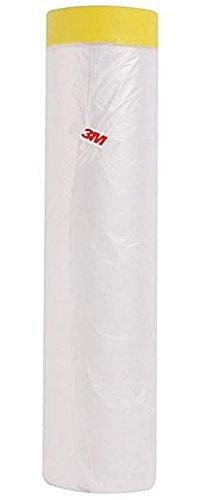 Paper Coat (3M Scotch 65-Feet Tape'n Drape Pre-Taped Mask Film 2600 (78.7 In))