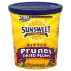 Sunsweet Prunes Pitted 18 OZ (Pack of 24)