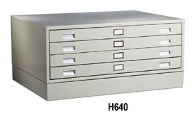 Ordinaire Hobart Cabinet Company, 8 Drawer Flat File, H690, Outside Size W X H X D: 46