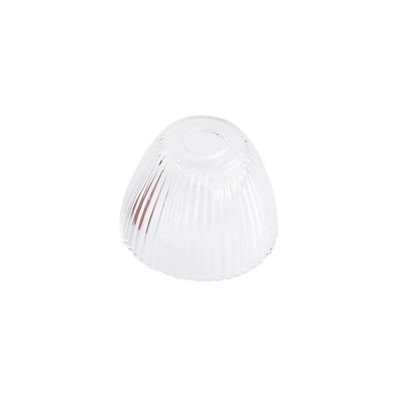 1-Light Prism Glass Shield Track Head Shade Color: Clear 700PRISMCS