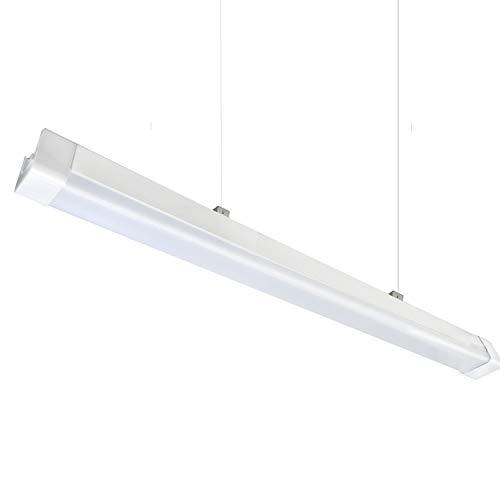 - 8ft LED Shop Light Fixture,IP66 Waterproof,75W 8500LM,for Garage,Workshop,Warehouse,Car Wash, Warehouse, Barn, Auto Shop Lighting(1 PCS 8ft LED Shop Light 5500K)