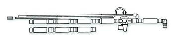 (EA) Adult Single-Limb Portable Universal Ventilator Circuits