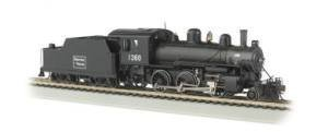 Bachmann Industries Alco 2-6-0 DCC Sound Value Equipped HO Scale #1360 Boston and Maine Locomotive by Bachmann Trains