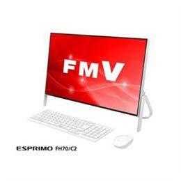 パソコン パソコン本体 デスクトップパソコン 富士通 デスクトップパソコン FMV ESPRIMO FH70/C2 ホワイト FMVF70C2W -ak [簡易パッケージ品] B07GVM91CX