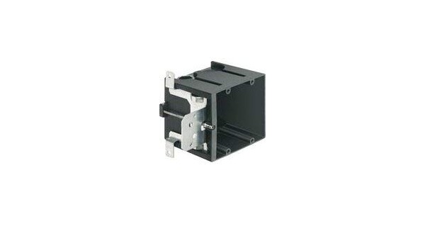 Depth: 3.875 Non-Metallic- Pack of 10 Adjustable 2-Gang Arlington FA102 Switch//Outlet Box