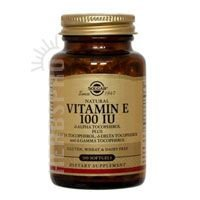Solgar - Vitamin E 100 IU Mixed (d-Alpha Tocopherols & Mixed Tocopherols) 100 Softgels