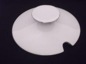 THOMAS CHINA 2MM PLATINUM LID (CUT OUT FOR LADLE) FOR TUREEN - BNIB (China Platinum Tureen)
