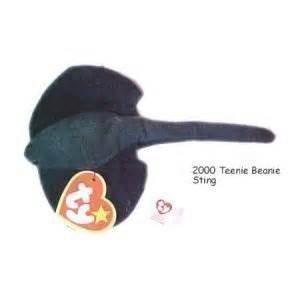 (Sting the Ray - McDonald's Ty Teenie Beanie MIP - 2000 #15)