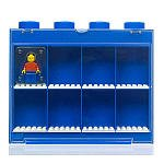 LEGO Small MiniFigure Display Case with MiniFigure - Blue