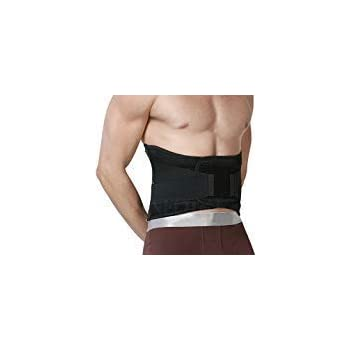 Neotech Care Back Brace - Lumbar Support Belt - Wide Protection, Adjustable Compression & Breathable - for Gym, Posture, Lifting, Work, Pain Relief - Black - Size XXXL