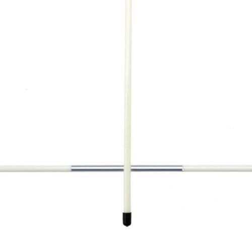 ゴルフロッドスティック – TOOGOO ( R ) Aペアゴルフ線形練習ロッドスティックスイングトレーニングトレーナーフリーキャップマーカーレッド B01HED6UZE  ホワイト