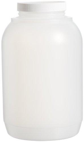 Bel-Art Wide-Mouth Gallon Polyethylene Bottle; 4000ml, Polypropylene Cap, 110mm Closure (F10638-1010)