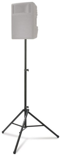 ultimate-support-ts-88b-original-series-aluminum-tripod-speaker-stand-with-integrated-speaker-adapte