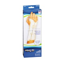 Sportaid Wrist Brace Deluxe Left, Beige Large 1 each by Sport Aid (Pack of 3)